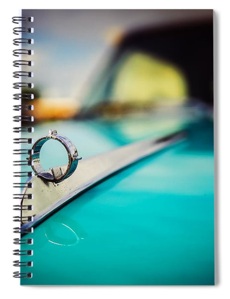 1964 Ford Galaxie 500 Xl Hood Ornament Spiral Notebook