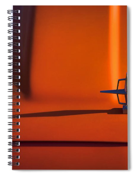 1964 Lincoln Continental Hood Ornament Spiral Notebook