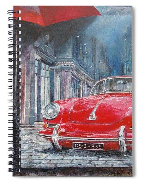 1964 Porsche 356 Coupe Spiral Notebook