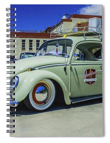 1965 Volkswagen Bug Spiral Notebook