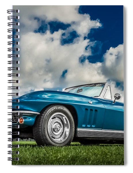 1966 Corvette Stingray  Spiral Notebook