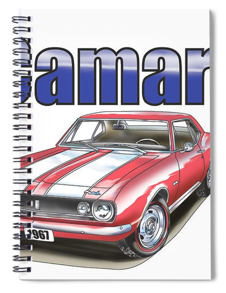 1967 Camaro Spiral Notebook