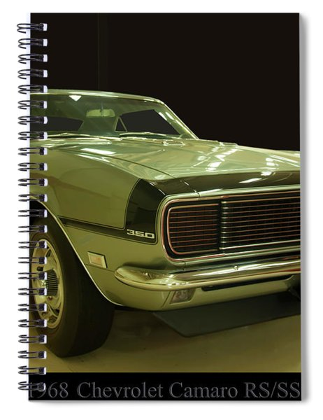 1968 Chevy Camaro Rs-ss Spiral Notebook