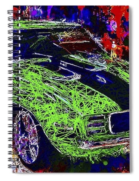 1969 Camaro Z28 Spiral Notebook