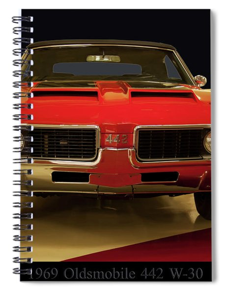 1969 Oldsmobile 442 W-30 Spiral Notebook