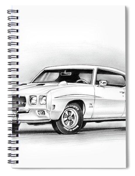 1970 Pontiac Gto Judge Spiral Notebook
