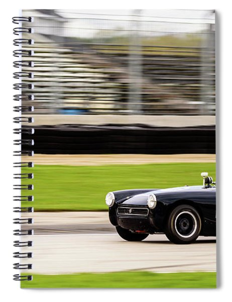 1972 Mg Midget Spiral Notebook