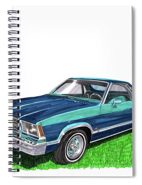 1979 Chevrolet El Camino Spiral Notebook