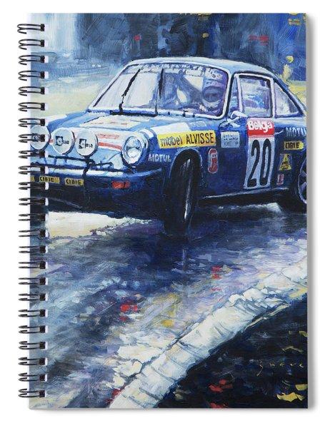 1980 Criterium Lucien Bianchi Porsche Carrera Keller Hoss #20 Spiral Notebook