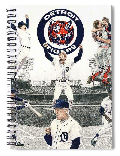 1984 Detroit Tigers Spiral Notebook