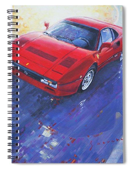 1984 Ferrari 288 Gto Spiral Notebook