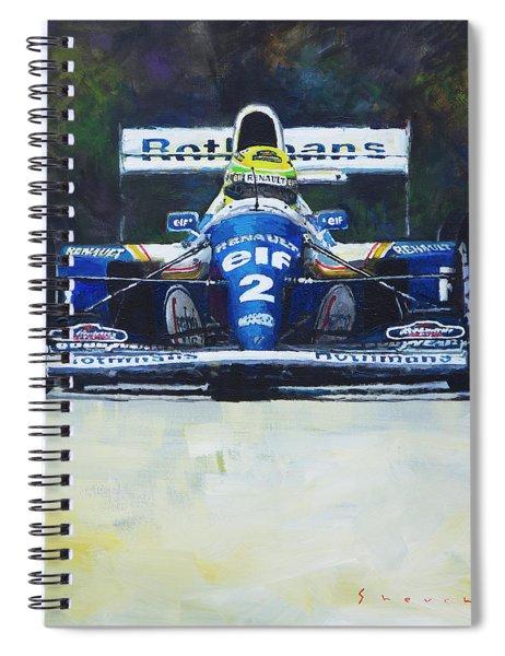 1994 Ayrton Senna Williams Renault Fw16 Spiral Notebook