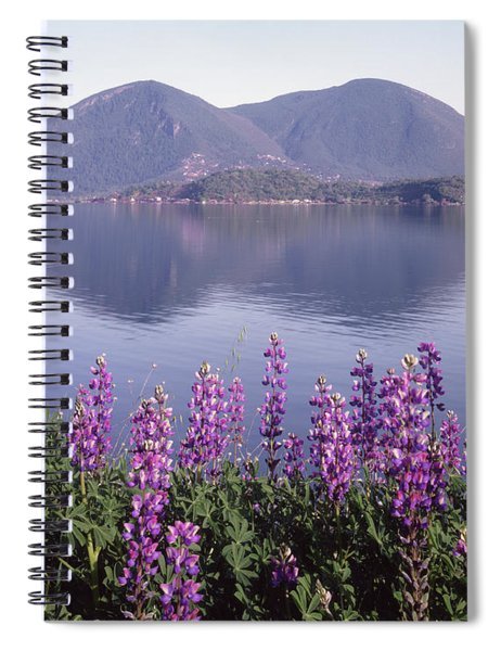 1a6345 Mt. Konocti Reflect Ca Spiral Notebook
