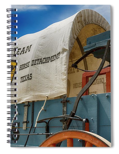 1st Cavalry Division Fort Hood - Horse Detachment Spiral Notebook