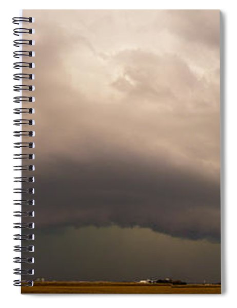 3rd Storm Chase Of 2015 Spiral Notebook