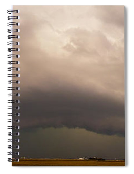 Spiral Notebook featuring the photograph 3rd Storm Chase Of 2015 by NebraskaSC