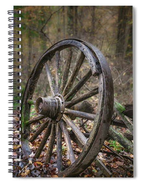 Abandoned Wagon Spiral Notebook