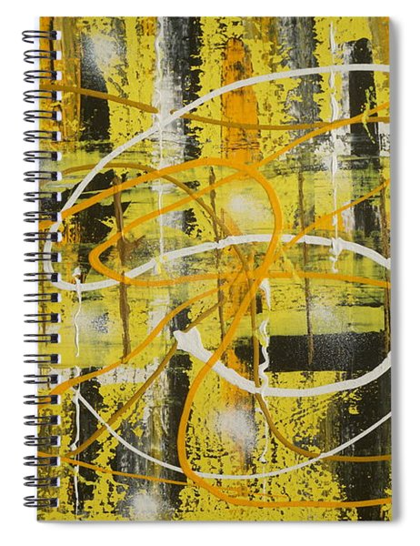 Abstract_untitled Spiral Notebook