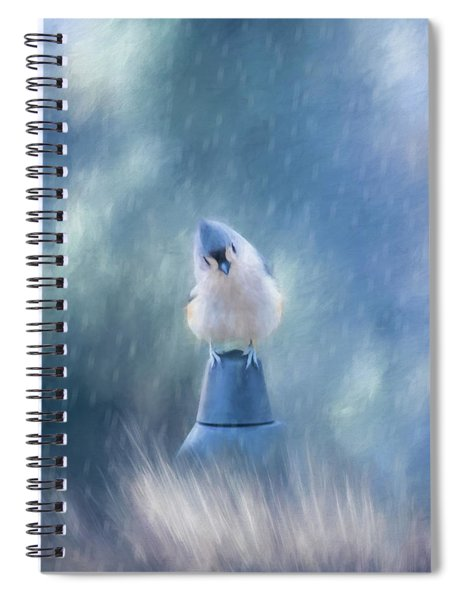 April Showers Spiral Notebook