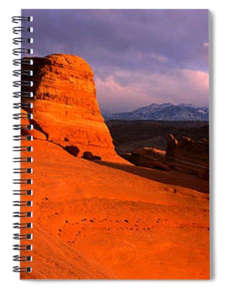 Arches National Park, Utah, Usa Spiral Notebook