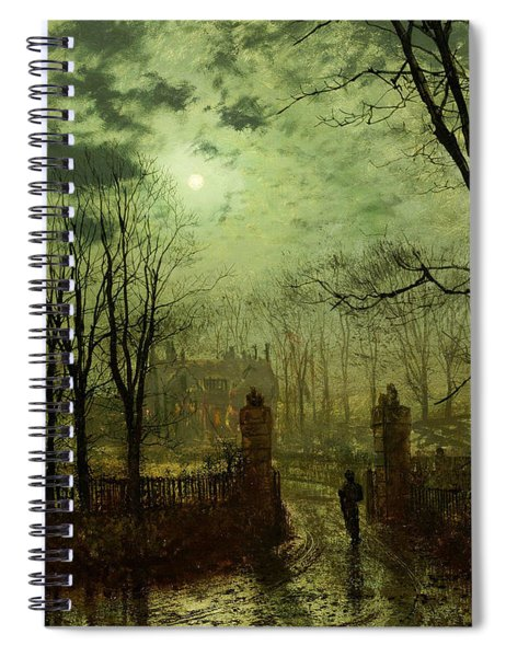 At The Park Gate Spiral Notebook