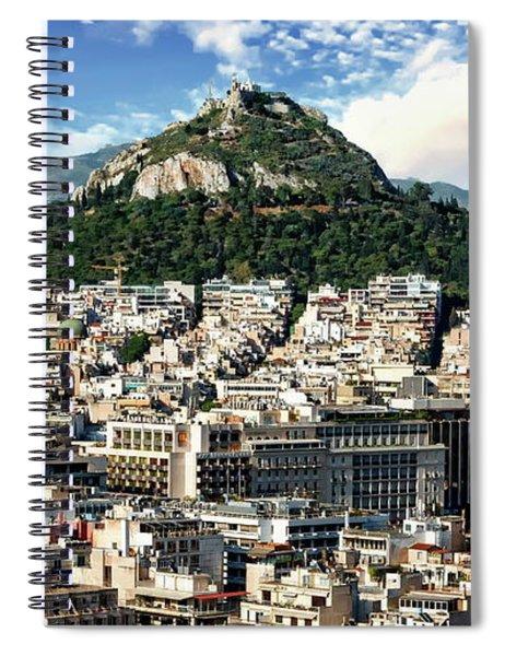 Athens Panorama Spiral Notebook