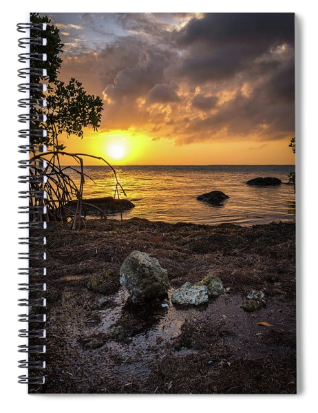 Bahia Honda Sunset Spiral Notebook