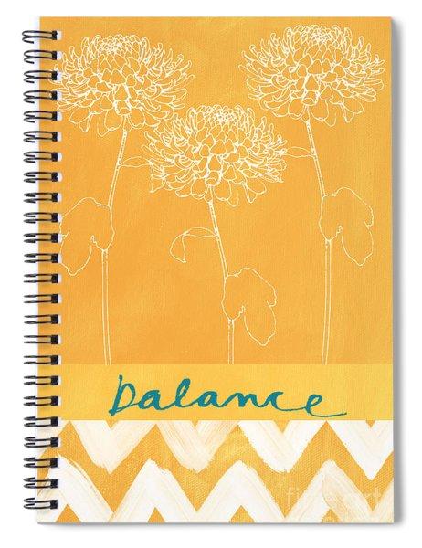 Balance Spiral Notebook by Linda Woods