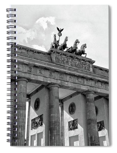 Brandenburg Gate - Berlin Spiral Notebook