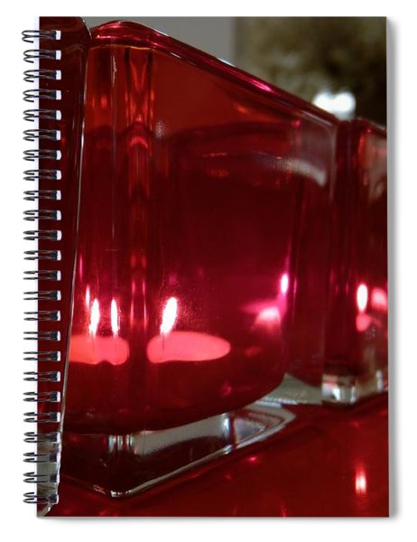 Candle Spiral Notebook