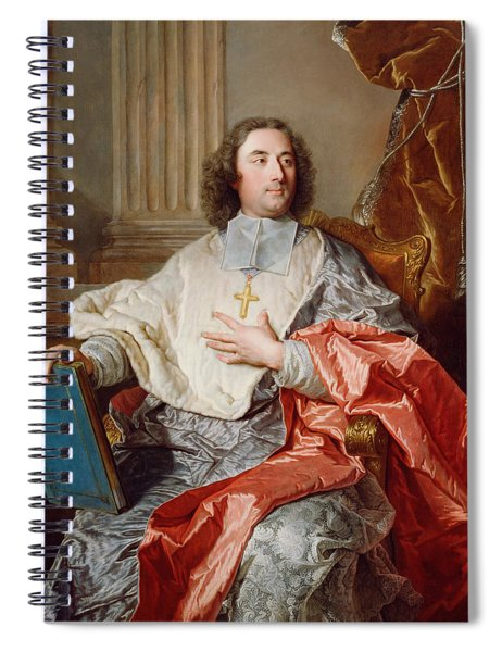 Charles De Saint-albin, Archbishop Of Cambrai Spiral Notebook