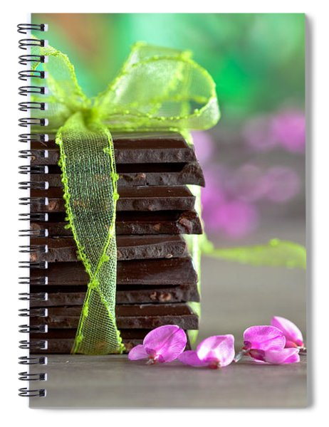 Chocolate Spiral Notebook