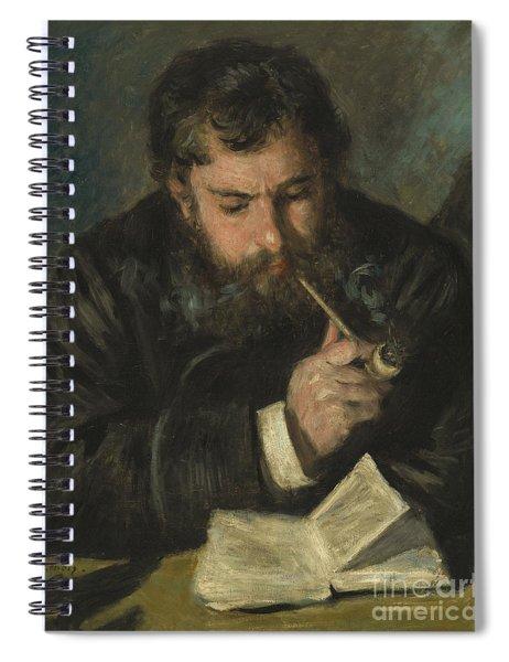 Claude Monet Spiral Notebook