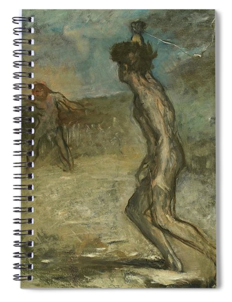 David And Goliath Spiral Notebook