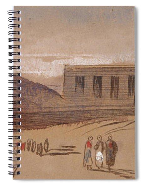 Dendera Spiral Notebook