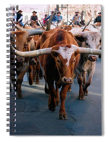 Denver National Western Stock Show Kick-of Parade 2018 Spiral Notebook