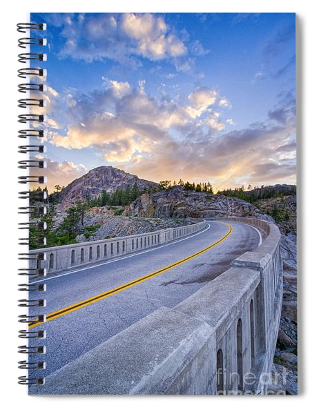 Donner Memorial Bridge Spiral Notebook