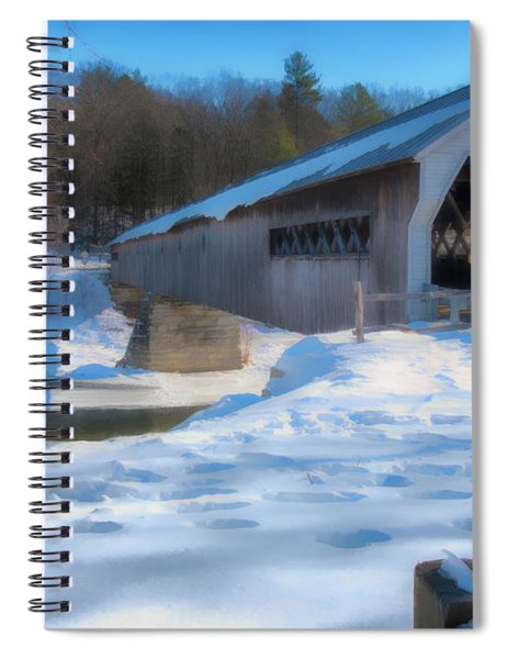 Dummerston Bridge Spiral Notebook