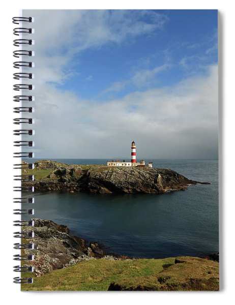 Eilean Glas Lighthouse Spiral Notebook