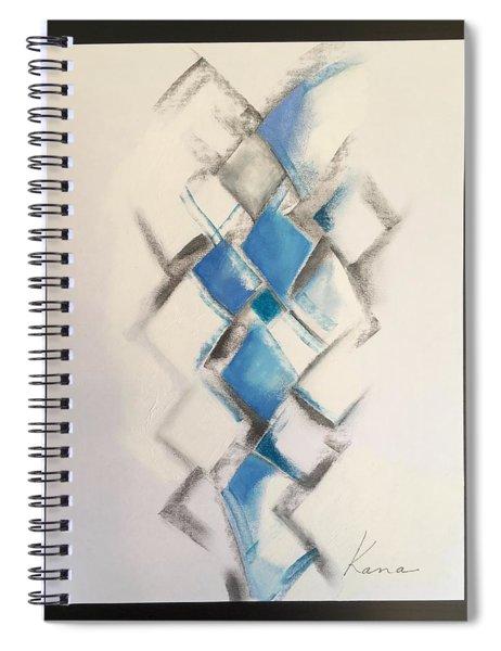 Energy,abstract Art Print. Spiral Notebook