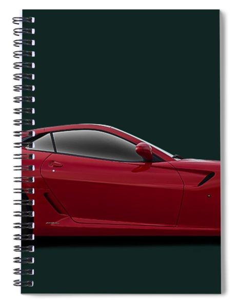 Ferrari 599 Gtb Spiral Notebook