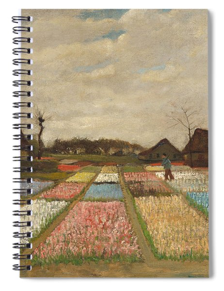 Flower Beds In Holland Spiral Notebook
