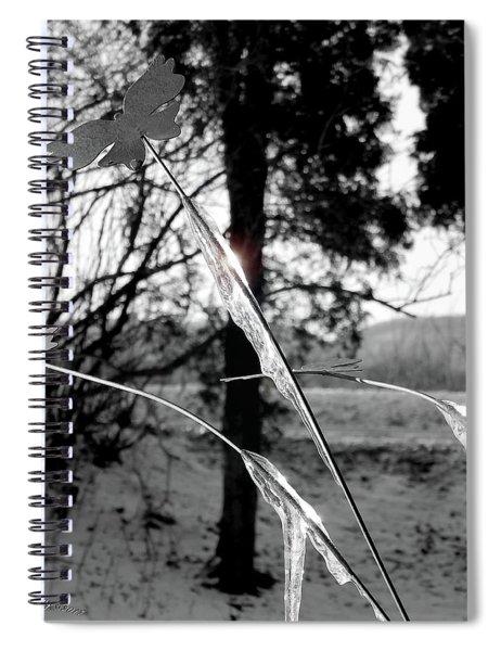 Frozen Flight Spiral Notebook