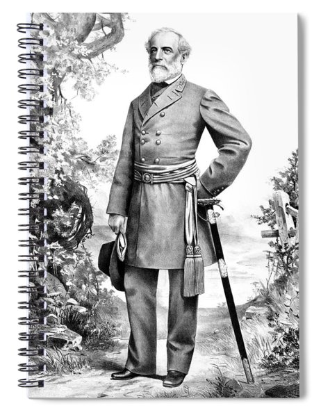 General Robert E. Lee Spiral Notebook