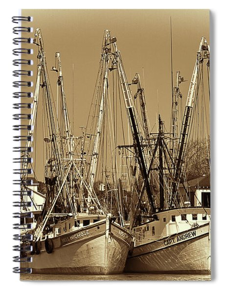 Georgetown Shrimpers Spiral Notebook