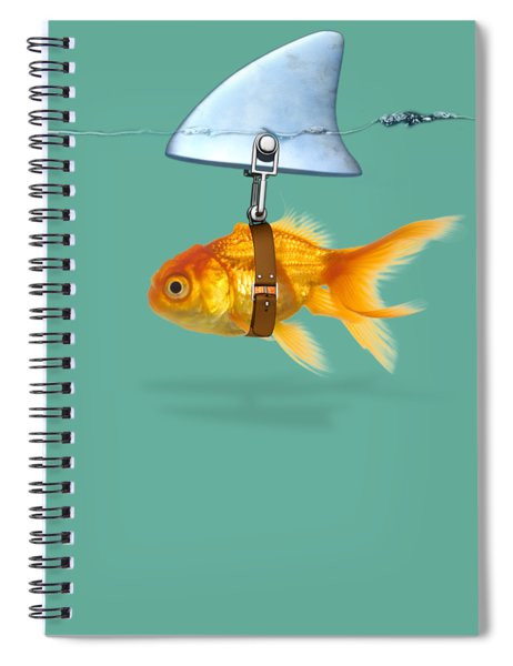 Gold Fish  Spiral Notebook
