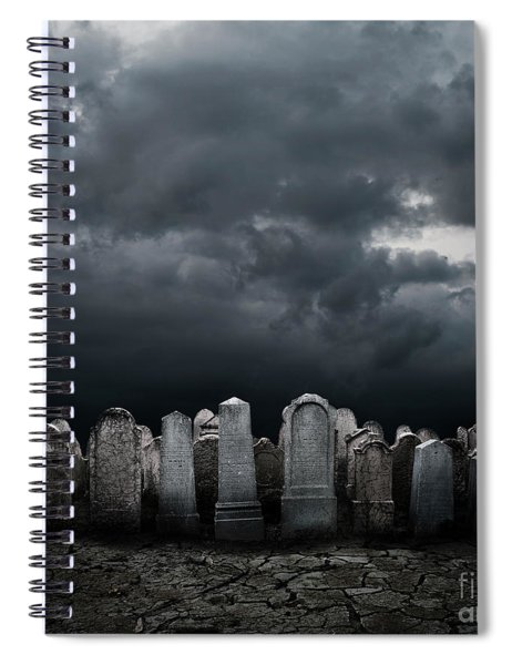 Graveyard Spiral Notebook