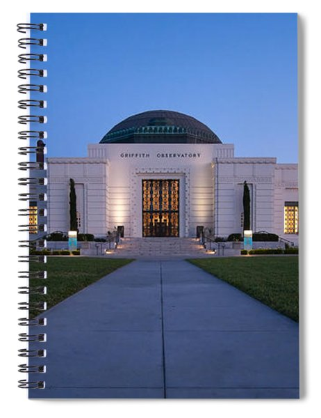 Griffith Observatory Spiral Notebook