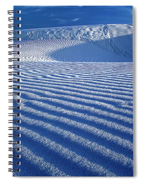 Gypsum Dunes White Sands National Monument New Mexico Spiral Notebook