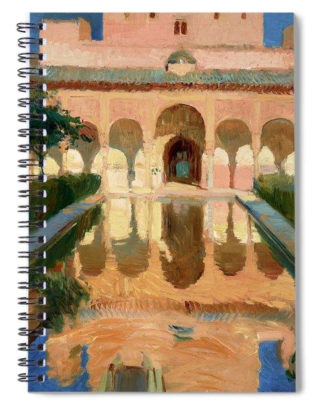 Hall Of The Ambassadors, Alhambra, Granada Spiral Notebook